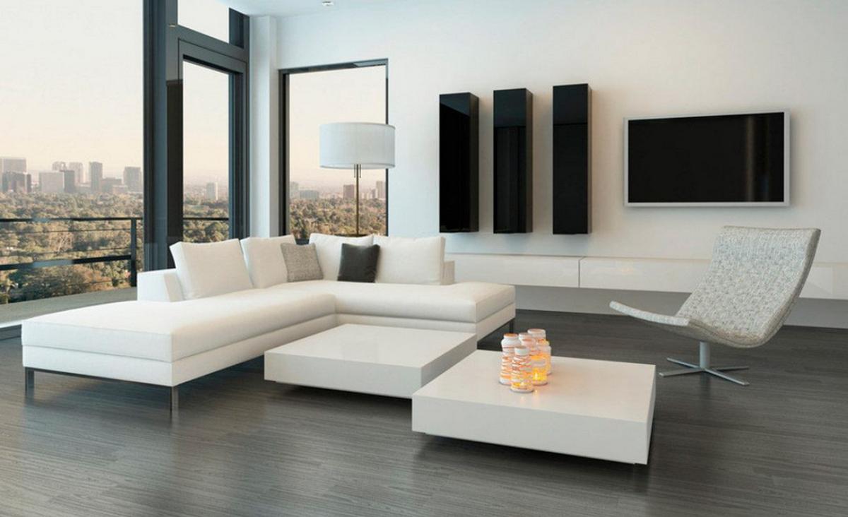 decorar un salón minimalista